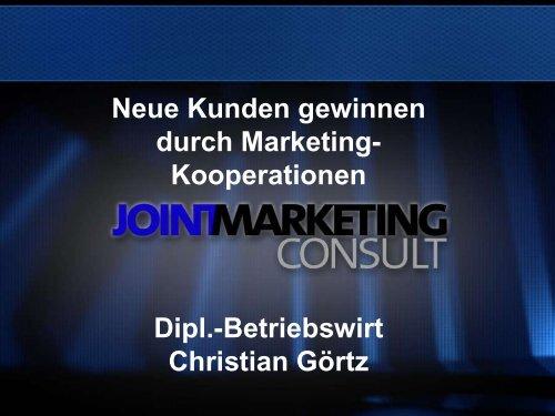 Neue Kunden gewinnen durch Marketing-Kooperationen