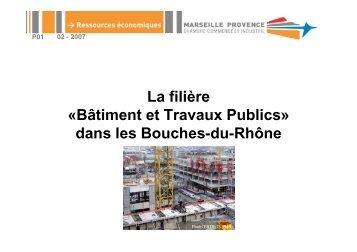 La filière «Bâtiment et Travaux Publics» dans les Bouches ... - CCIMP