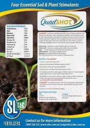 BiologiCAL PLUS & QuadSHOT – Horticulture