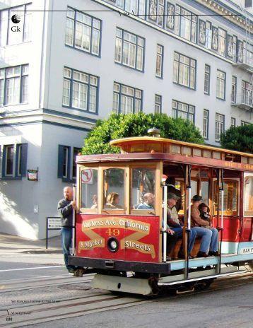 San Francisco, tramvaj na Pine Street - australasia