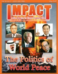 January 2008 - IMPACT Magazine Online!