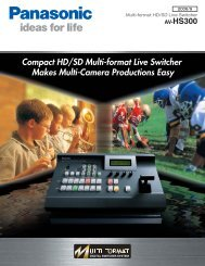 Page 1 Av-HS3OO Multi-format HD/SD Live Switcher IG ideas for life ...