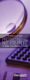 Not-for-Profit Brochure - Benesch