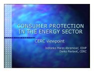 consumer protection in the energy sector - Narucpartnerships.org