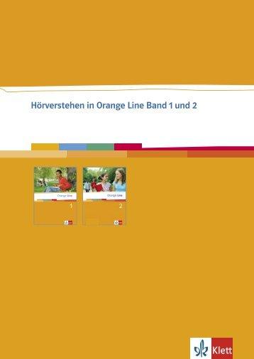 Hörverstehen in Orange Line Band 1 und 2