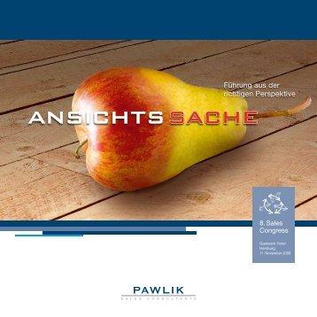 Prof. dr. michael BanGert - Pawlik Sales Consultants AG