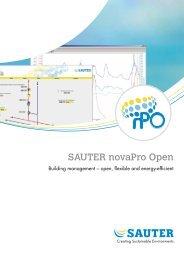 SAUTER novaPro Open - sauter-controls.com sauter-controls.com