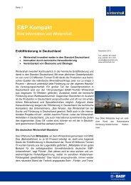 Fact Sheet Ölförderung Deutschland (Deutsch)