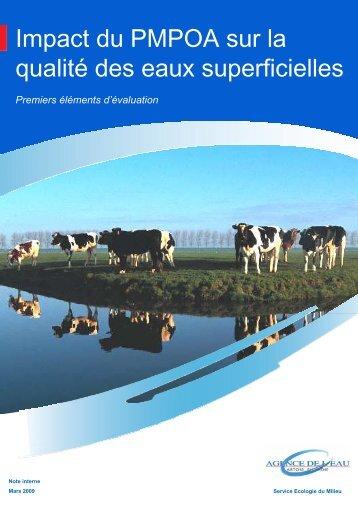 Impact du PMPOA - Agence de l'eau Artois Picardie