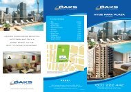 HYDE PARK PLAZA - Oaks Hotels & Resorts