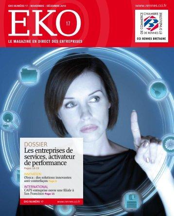 Les entreprises de services, activateur de performance - CCI Rennes