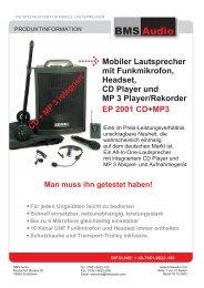Datenblatt SENRUN EP 2001 - Kreismedienzentrum Waldshut