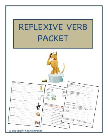 REFLEXIVE VERB PACKET - Teacher
