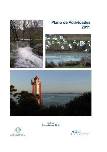 Plano de Actividades 2011 - Agência Portuguesa do Ambiente