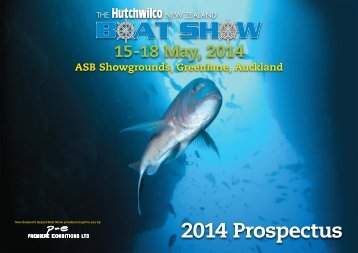Exhibitor Prospectus for the 2014 Hutchwilco Boat Show