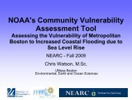 NOAA's Community Vulnerability Assessment Tool: Assessing the ...