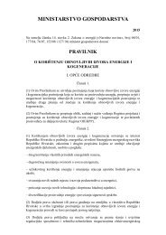 88 01.08.2012 Pravilnik o korištenju obnovljivih izvora energije i ...