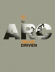 Corporate Profile - ARC Resources Ltd.