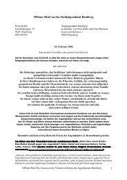 Offener Brief vom 24. Februar 2006 an das - Petra Heller
