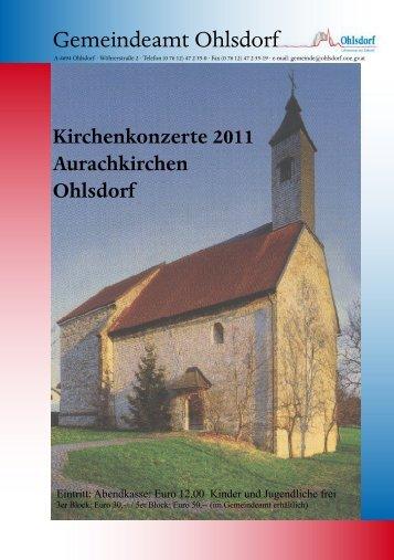 Gemeindeamt Ohlsdorf - Gemeinde Ohlsdorf