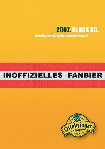 Jahresfinanzbericht 2007 - Wiener Börse