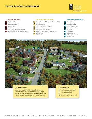 TilTon school campus map