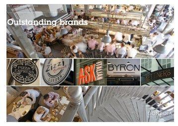 Outstanding brands Outstanding brands - Gondola Holdings