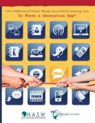 Child welfare social worker's attitudes toward mobile technology tools