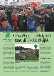 Elmia Wood -näyttely veti taas yli 50.000 kävijää - Metsätrans