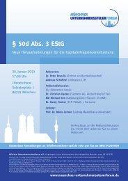 § 50d Abs. 3 EStG - P+P Pöllath + Partners