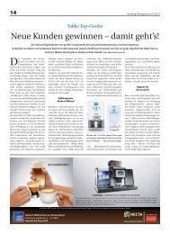 Vending Management 01/2013 - Servomat Steigler