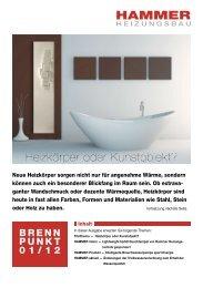 Brennpunkt 01/13 - HAMMER - HEIZUNGSBAU GmbH