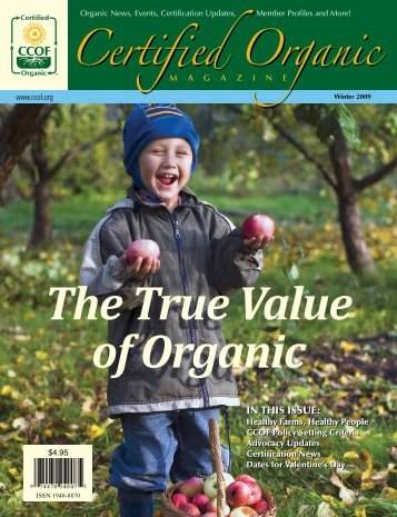 The True Value of Organic - CCOF