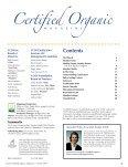 The True Value of Organic - CCOF - Page 3