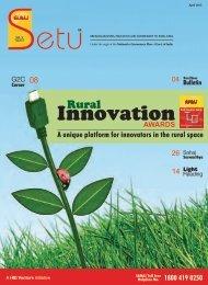 SAHAJ Newsletter April '13 (English)
