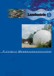 folder membraan gashouders - Landustrie