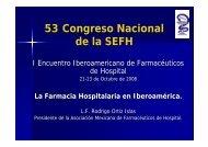Farmacia Hospitalaria en México