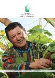 MSDSP KG Annual report 2012 - Aga Khan Development Network