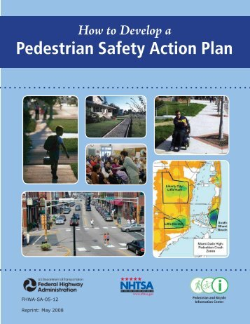 How to Develop a Pedestrian Safety Action Plan - University of North ...