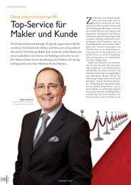 Finanzwelt 01/2012 - Dialog Lebensversicherungs-AG
