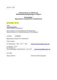 Untersuchung von Altholz aus Altholzaufbereitungsanlagen in - IGBU