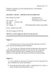 BI3016 Bokmaal.pdf - Institutt for biologi