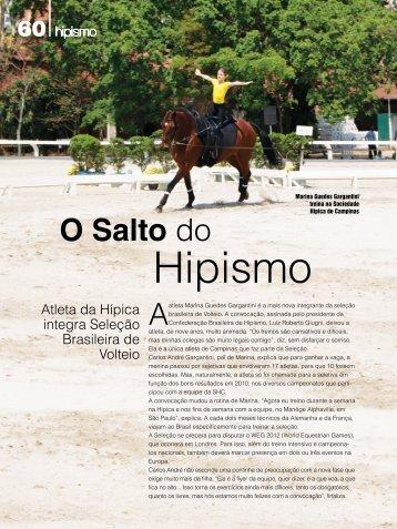 Hipismo - Sociedade Hípica de Campinas
