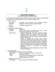PENGUMUMAN PENGADAAN No.010500.Peng/LG.01.00/SBU1LA ...