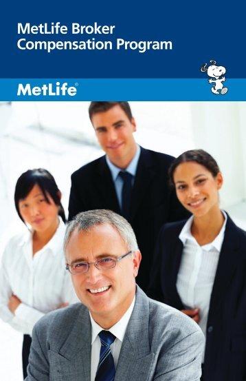 MetLife Broker Compensation Program - For Business