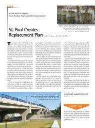 CITY - St. Paul, Minnesota - Aspire - The Concrete Bridge Magazine