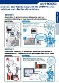 Mitsubishi Graphic Operation Terminal GOT1000 ... - Omni Ray AG - Page 5