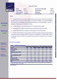 MAC sa – Département Recherches Février 2008 GIF 1 La société ...