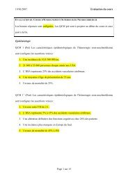 evaluation du cours d'enseignement superieur de ... - UMVF