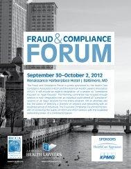 brochure - The American Health Lawyers Association